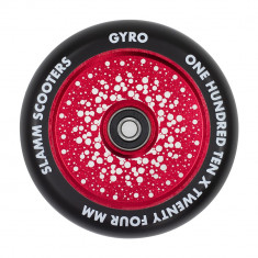 Roata trotineta Slamm 110mm Gyro Hollow Core Red + Abec 9
