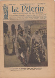 Ziar Le Pelerin - dedicat Regina Maria cu Regele Ferdinand dupa incoronarea 1922