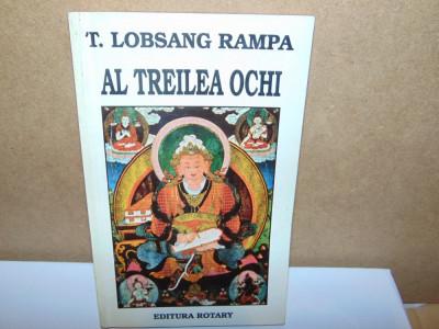 AL TREILEA OCHI -T.LOBSANG RAMPA foto