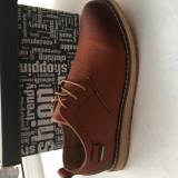 Pantofi  barbati,piele naturala. Marimi 40,41 si 42, Maro