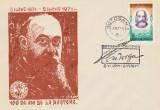 1971 Centenarul nasterii lui Nicolae Iorga, plic filatelic cu stampila speciala