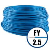 Conductor FY 2.5 - 100 m - Cablu curent cupru plin, disponibil in TOATE CULORILE, NOVelite