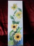Floarea soarelui -pictura ulei pe panza