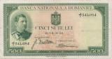 ROMANIA 500 LEI 1934 F