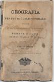 Geografia pentru scolele poporale 1900 Vasile Goldis Brasov