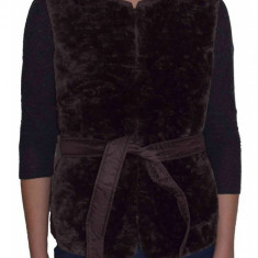Vesta textil dama, din poliamida, marca Geox, W8425T-F6176-46-06, caffe 40