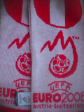 HOPCT  FULAR SPORTIV FOTBAL UEFA EURO 2008 MECIUL AUSTRIA-ELVETIA