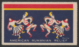 1952 Vigneta Exil Fundatia Americano-Romana de Ajutor Iuliu Maniu, anticomunism