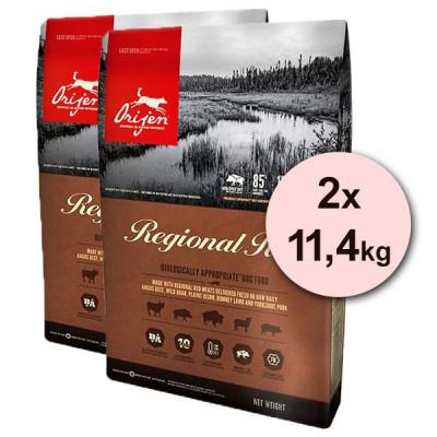 Orijen Regional Red Dog 2 x 11,4 kg foto