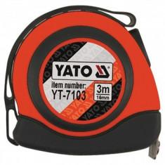 Ruleta 3mx6mm, nylon, magnetica, Yato YT-7103