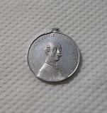 Medalie / medalion 1905 Vasile Alecsandri - Ginta latina Marelui poet national