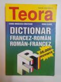 DICTIONAR FRANCEZ - ROMAN , ROMAN - FRANCEZ de SANDA MIHAESCU CIRSTEANU , IRINA ELIADE , 1998