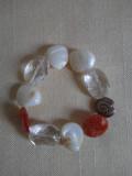 Bratara din pietre naturale si sidef 1