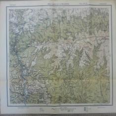 Raul Vadului si Racovita// harta Serviciul Geografic Armatei 1916