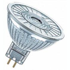 Bec Led Osram, PARATHOM MR16, GU5.3, 4.6W (35W), 12V, lumina calda(2700K), 350 lumeni, durata de viata 15.000 ore, clasa energetica A+;