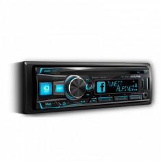 RadioCD Alpine CDE 185BT cu bluetooth si slot USB si iluminare taste variabila peste 150.000 nuante