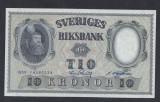 A5144 Sweden Suedia 10 kronor 1959 SEMNATURI DIFERITE UNC