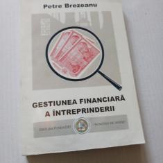 Gestiunea financiara  a intreprinderii - Petre Brezeanu