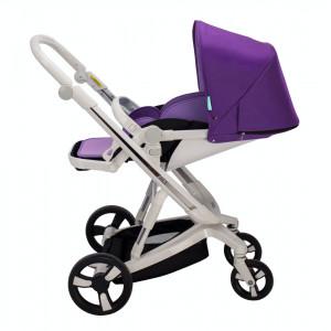 Cărucior Bebumi Space 3 în 1 (Purple)