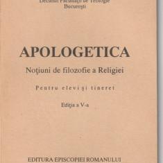 IOAN MIHALCESCU - APOLOGETICA ( NOTIUNI DE FILOZOFIE A RELIGIEI )