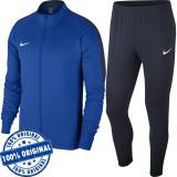 Trening Nike Academy 18 pentru barbati - trening original - treninguri barbati, L, M, S, Albastru, Poliester