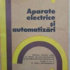 Aparate electrice si automatizari – A Popa