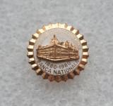 Insigna aniversara - Centenar Banca Nationala a Romaniei RSR 1980