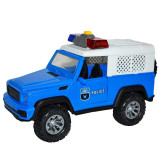 Jeep frictiune politie, cu lumina si sunet