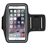 Cumpara ieftin Suport tip Armband pentru iPhone 6, 7 si 8 de 4.7 inch, prindere de mana, negru