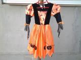 Pumpkin Costum de Halloween mar. 92 - 104 cm, Din imagine