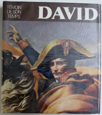 DAVID - TEMOIN DE SON TEMPS par ANTOINE SCHNAPPER, 1980 foto