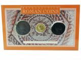 Set 3 Monede Romane - Dupondius of Hadrian, Aureus of Claudius, As of Claudius