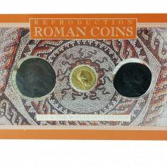 Set 3 Monede Romane - Dupondius of Hadrian, Aureus of Claudius, As of Claudius, Europa