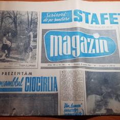 Magazin 18 aprilie 1964-articol si foto despre ansamblul ciocalia
