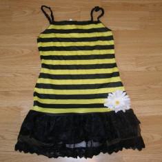 Costum carnaval serbare albina albinuta pentru copii de 10-11-12 ani, 10-11 ani, Din imagine
