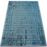 Covor Vintage Flori 22209/474 turcoaz, 120x170 cm