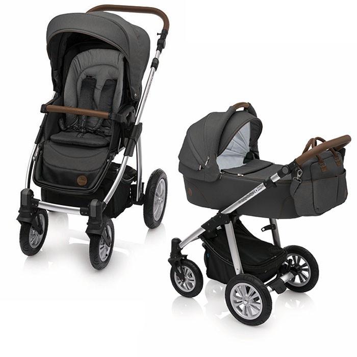 Baby Design Dotty 17 graphite 2018 - carucior 2 in 1