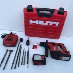 Ciocan Rotopercurator pe baterie Hilti TE 4-A22 Bateri de 5,2 Ah