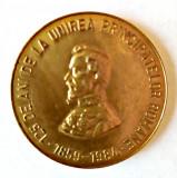 MEDALIE 125 DE ANI UNIREA PRINCIPATELOR ROMANE 1849 1984 ALEXANDRU IOAN CUZA CCA
