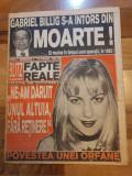 Revista blitz magazin anul 1,nr. 1 - anii '90 -prima aparitie a revistei