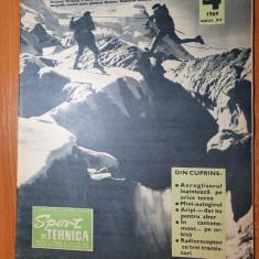 sport si tehnica aprilie 1969-mini autogirul,articol roland garros,alpinism