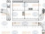 Vaporizator / Evaporator aer conditionat MERCEDES E-CLASS (W212) (2009 - 2016) HELLA 8FV 351 330-691