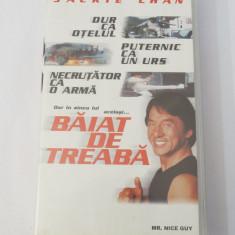 Caseta video VHS originala film tradus Ro - Baiat de Treaba