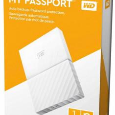 """HDD extern WD My Passport NEW 1TB, 2.5"""", USB 3.0, Alb"""