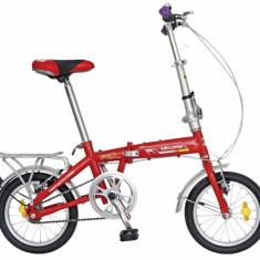 Bicicleta pliabila 14 FIVE Super cadru otel culoare rosu alb