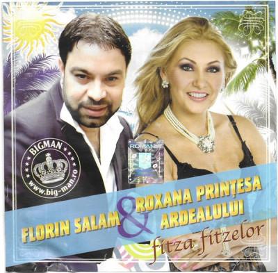 CD Florin Salam & Roxana Prințesa Ardealului – Fitza Fitzelor, original foto