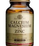 Calcium Magnesium + Zinc Solgar 100tb Cod: 2324slg