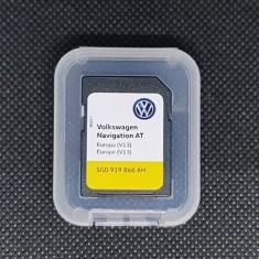 Card Original Volkswagen Golf 7 Passat B8 Discover Media AT MIB1 Europa V13 2019