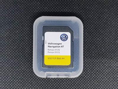 Card Original Volkswagen Golf 7 Passat B8 Discover Media AT MIB1 Europa V13 2019 foto