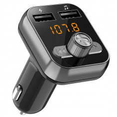 Adaptor Car Kit Bluetooth FM Edman, modulator FM, Mp3 Audio Player, incarcator auto 2.4A